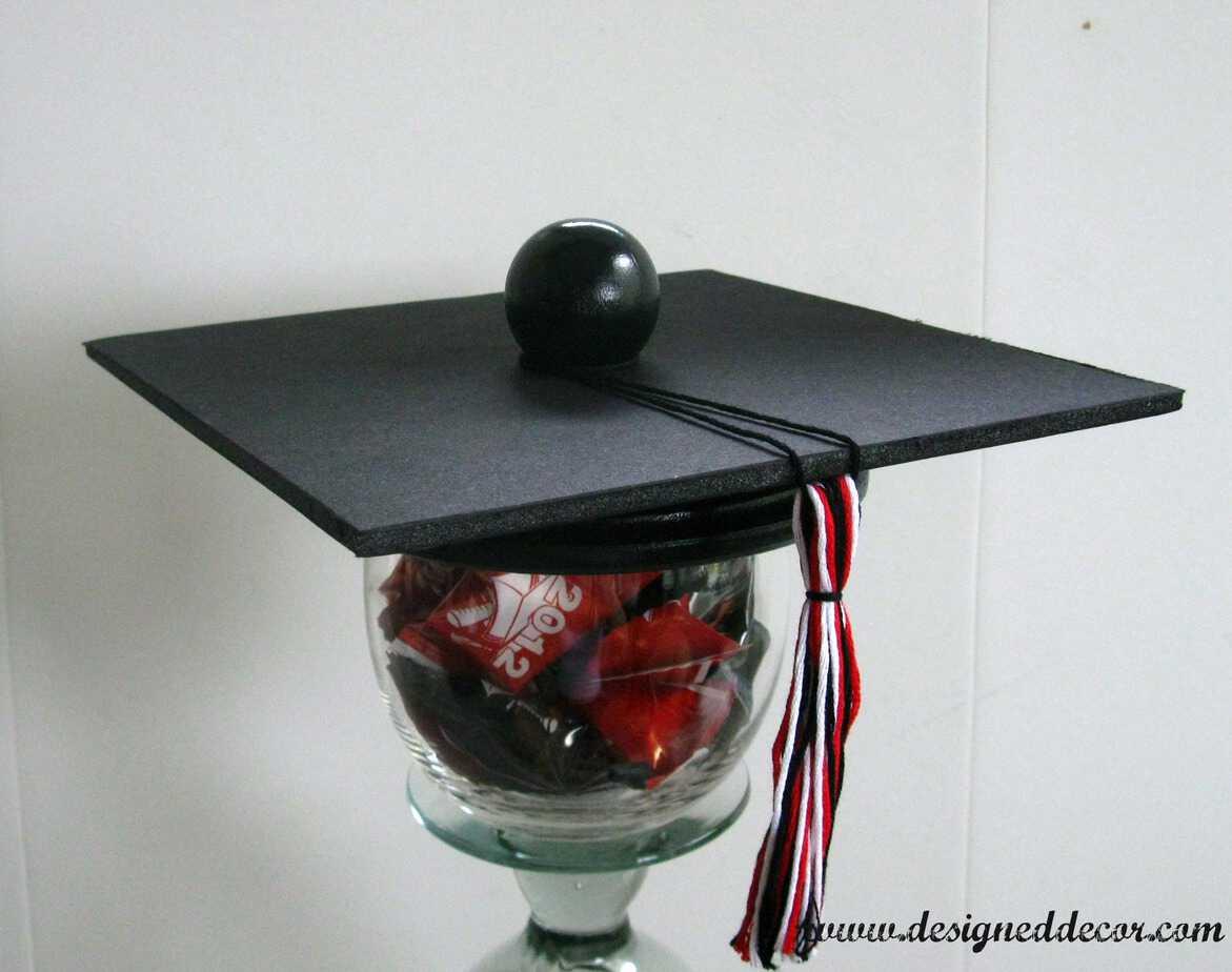 Graduation party candy dish designed decor