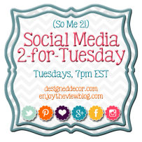 Social Media Link Party ~ #SoMe2 ~ Facebook and Bloglovin'!
