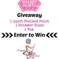 Headboard Makeover with Shabby Paints and a Giveaway!