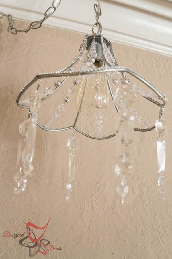 Diy crystal chandelier designed decor for How to make your own chandelier