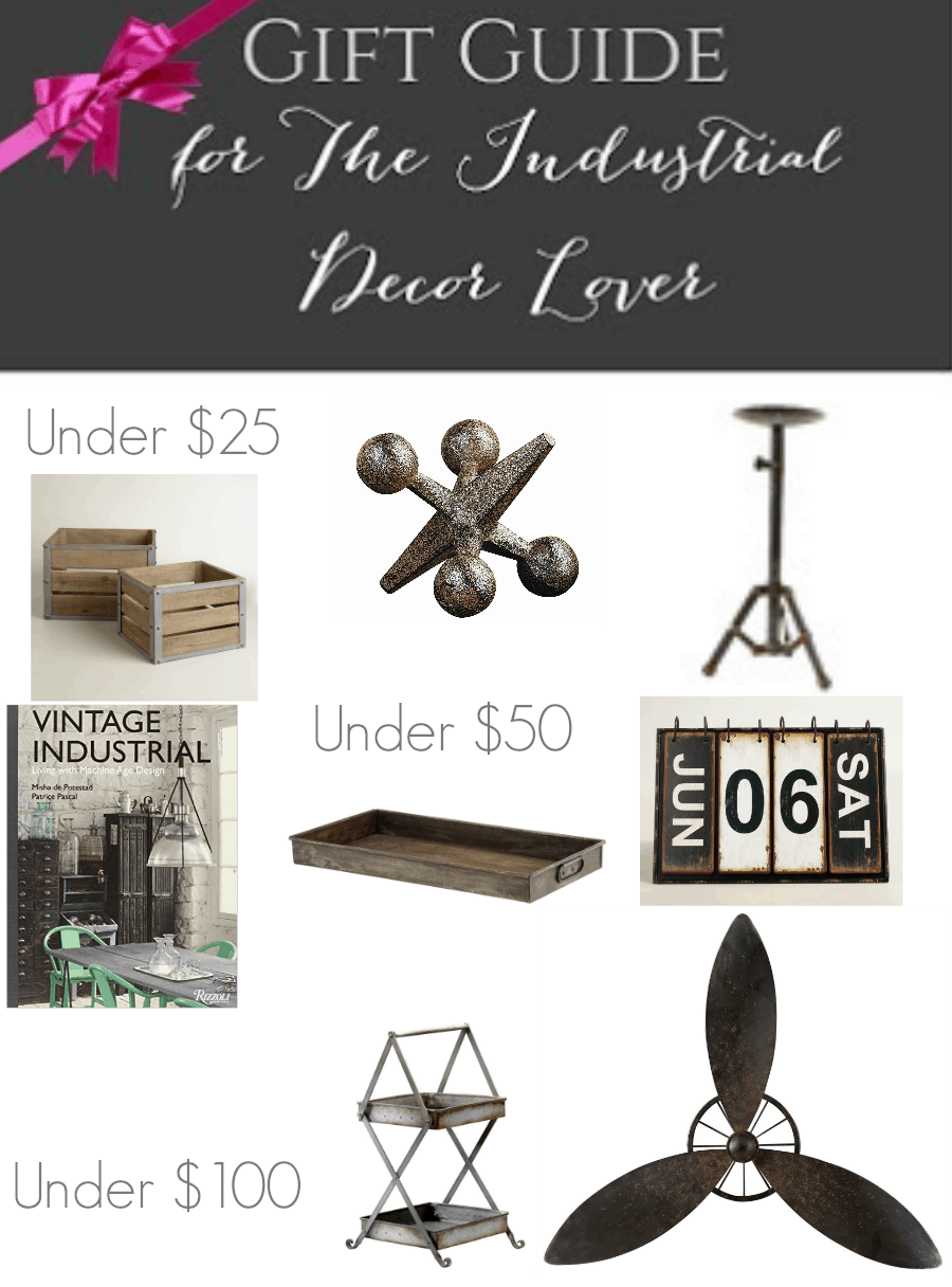 The Complete Gift Guide Industrial Decor Lover