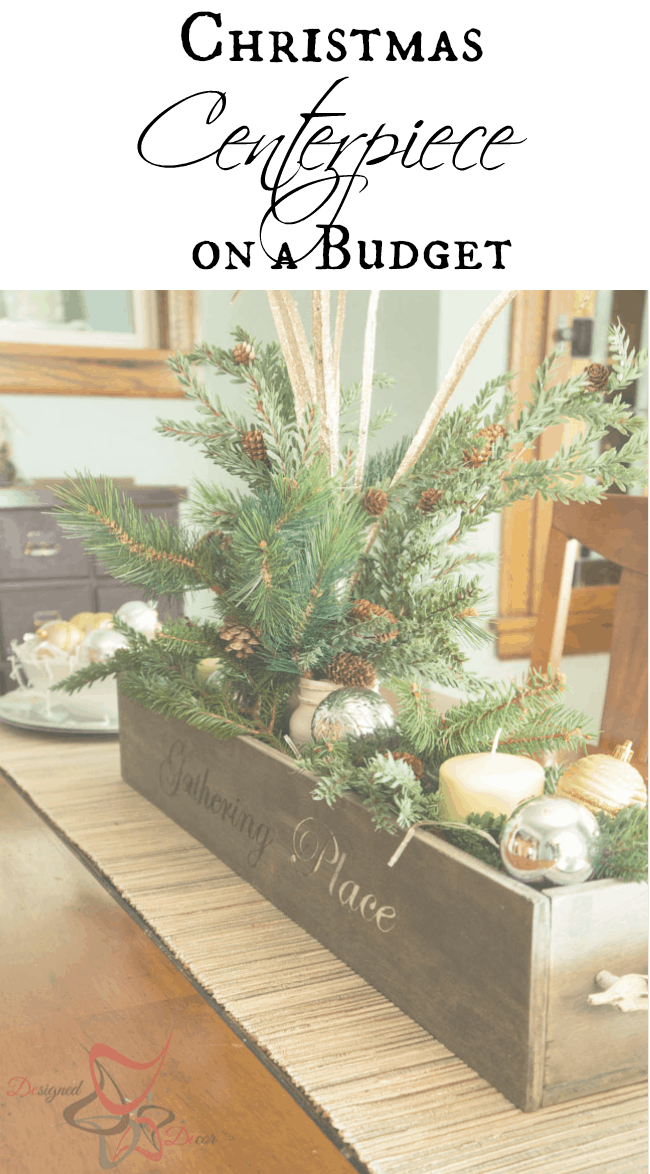 christmas centerpiece on a budget designed decor