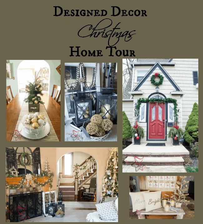 Christmas Home Tour 2015 Designed Decor