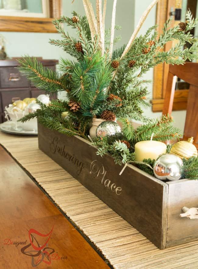 christmas centerpiece on a budget designed decor