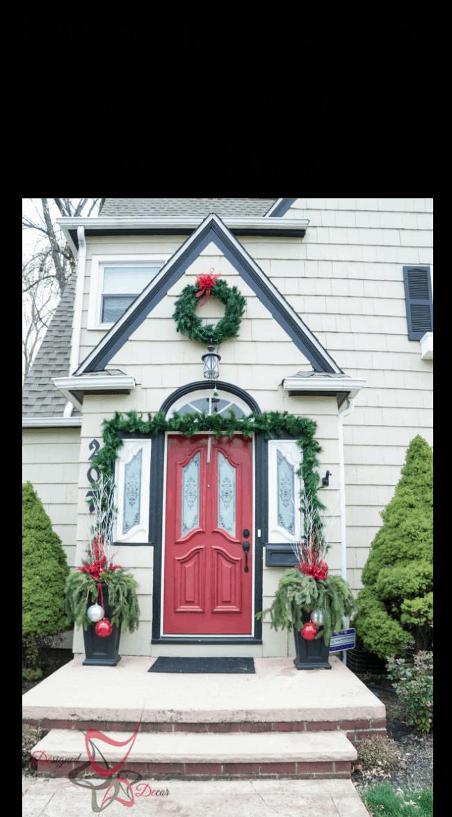 outdoor christmas decorations on a budget designed decor