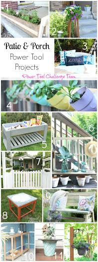 Patio-Porch-Deck Inspirations-Power Tool Challenge