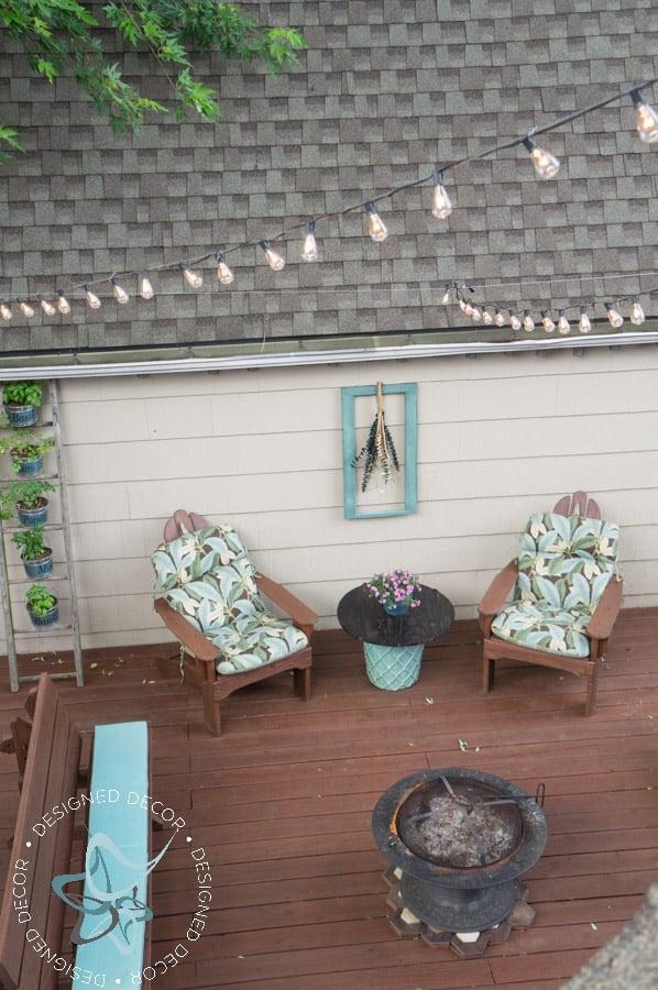 Hanging String Lights On Deck. Outdoor Lights Under Pergola. Remarkable Hanging Pergola Lighting ...